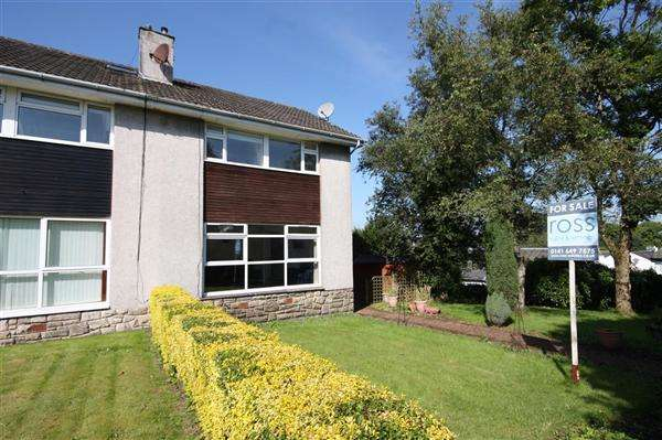 3 Bedrooms Semi-detached Villa House for sale in Sycamore Way, Glasgow