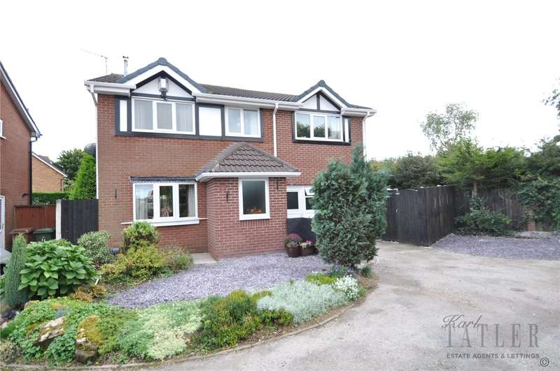 4 Bedrooms Detached House for sale in Crowmarsh Close, Upton, Wirral
