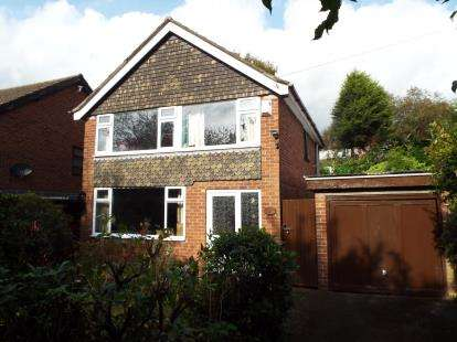 3 Bedrooms Detached House for sale in Buxton Lane, Marple, Stockport, Cheshire