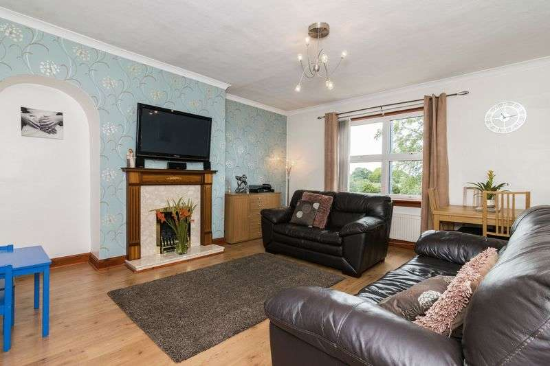 2 Bedrooms Flat for sale in 84 New Hunterfield, Gorebridge, Midlothian, EH23 4BJ