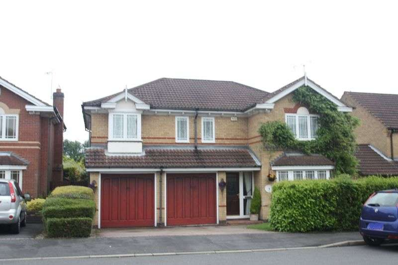 5 Bedrooms Detached House for sale in Hawley Close, Hugglescote