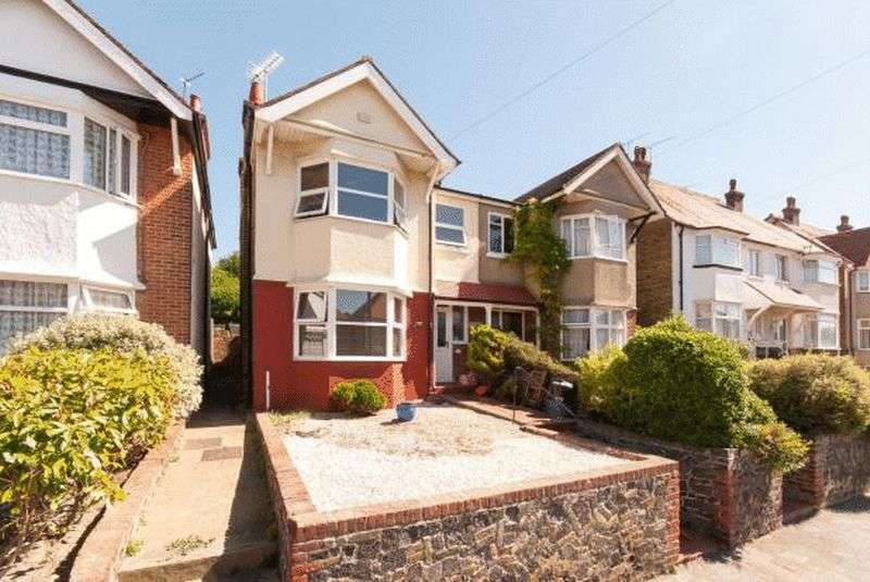 3 Bedrooms Semi Detached House for sale in 13 Wellesley Road, Margate, Kent, CT9-2UH