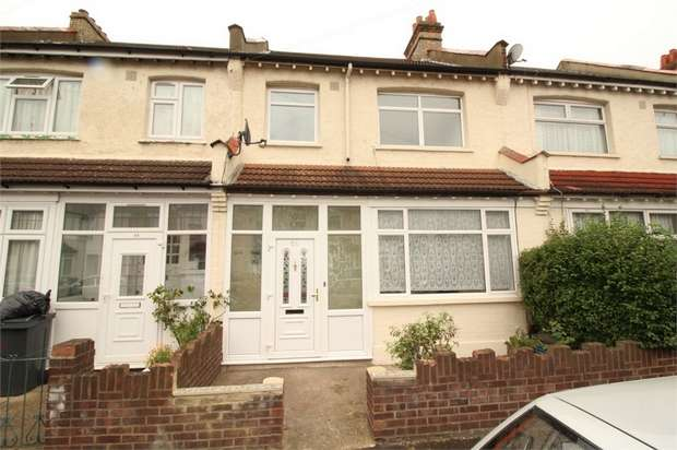 3 Bedrooms Terraced House for sale in Frant Road, Thornton Heath, Surrey