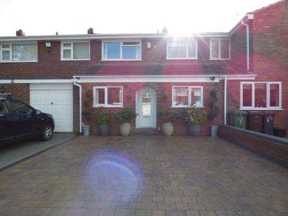 3 Bedrooms Terraced House for sale in Birchmoor Close, Hall Green, West Midlands