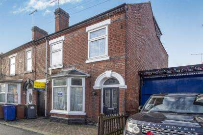 5 Bedrooms Semi Detached House for sale in Shobnall Street, Burton-On-Trent, Staffordshire