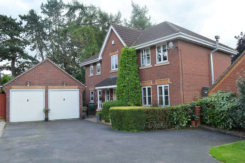 4 Bedrooms Detached House for sale in Gettings Close, Burntwood, WS7 9QE