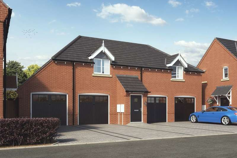2 Bedrooms Detached House for sale in Newfield Rise New Street, Measham, Swadlincote, DE12