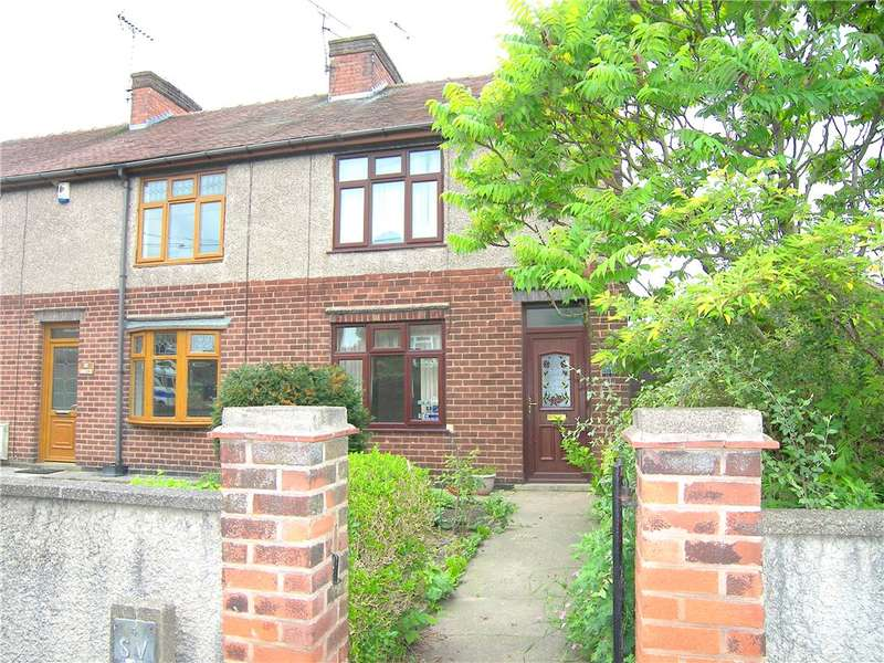 2 Bedrooms End Of Terrace House for sale in High Road, South Wingfield, Alfreton, Derbyshire, DE55