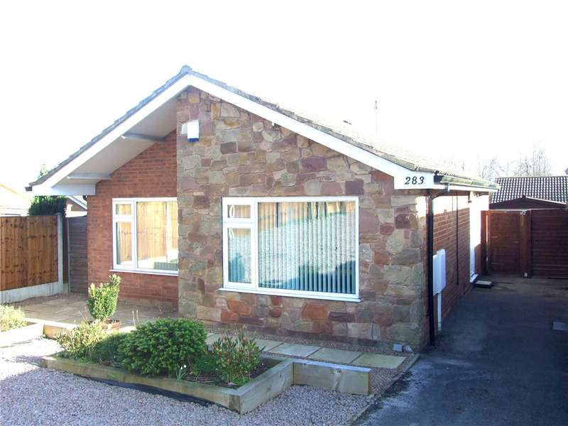 3 Bedrooms Detached Bungalow for sale in Lambourn Drive, Allestree, Derby, Derbyshire, DE22