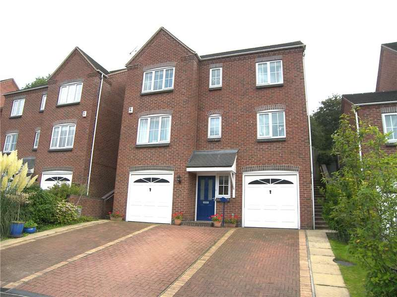4 Bedrooms Detached House for sale in Moorlands Road, Ridgeway, Belper, Derbyshire, DE56