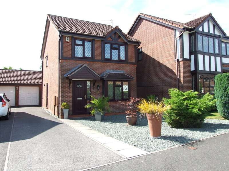 3 Bedrooms Detached House for sale in Mear Drive, Borrowash, Derby, Derbyshire, DE72