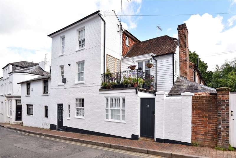 4 Bedrooms Semi Detached House for sale in Little Mount Sion, Tunbridge Wells, Kent, TN1