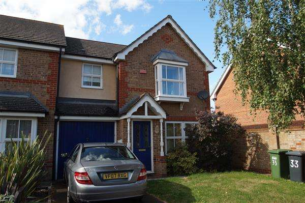 3 Bedrooms Semi Detached House for sale in Plaines Close, Cippenham