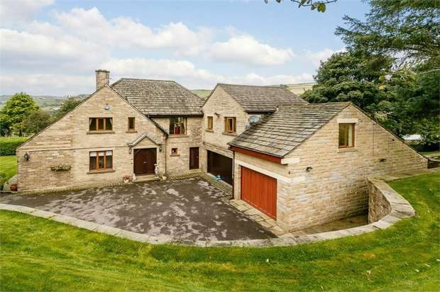4 Bedrooms Detached House for sale in Manchester Road, Marsden, Huddersfield, West Yorkshire