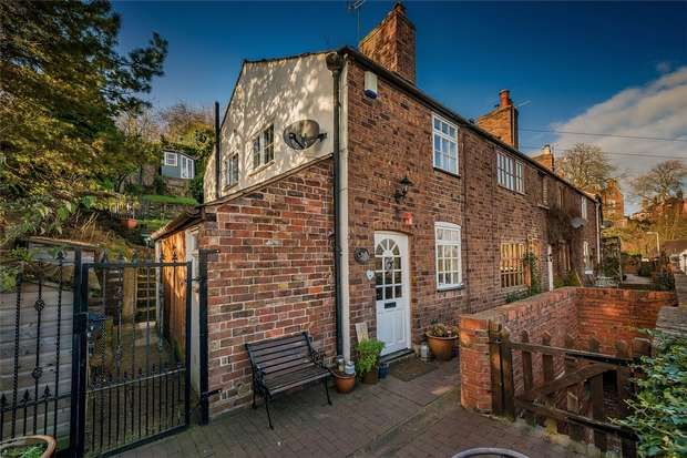 2 Bedrooms Cottage House for sale in St Leonards Steps, Bridgnorth, Shropshire