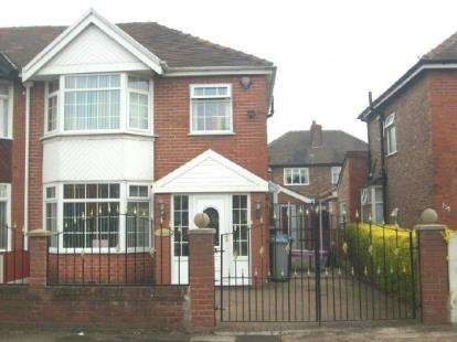 3 Bedrooms Semi Detached House for sale in Braemar Avenue, Stretford, Manchester, Greater Manchester