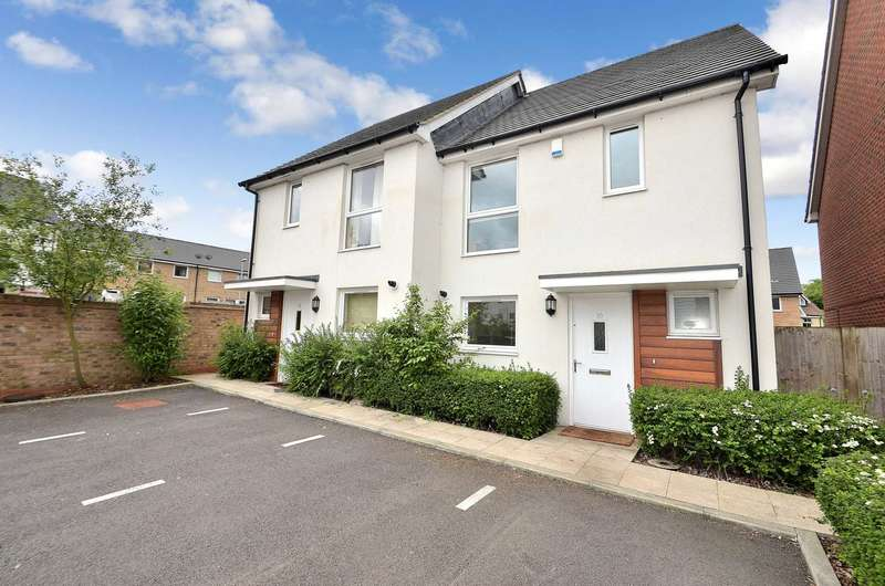 3 Bedrooms Semi Detached House for sale in Grove Corner, Redhouse Park