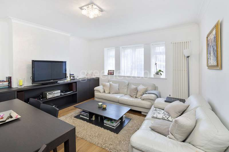 2 Bedrooms Flat for sale in Warwick Lodge, Shoot Up Hill, London, NW2