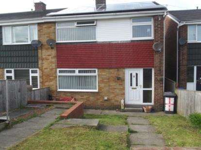 3 Bedrooms End Of Terrace House for sale in Charlaw Close, Sacriston, Durham, DH7