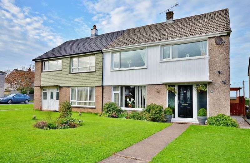 4 Bedrooms Semi Detached House for sale in Wordsworth Close, Egremont