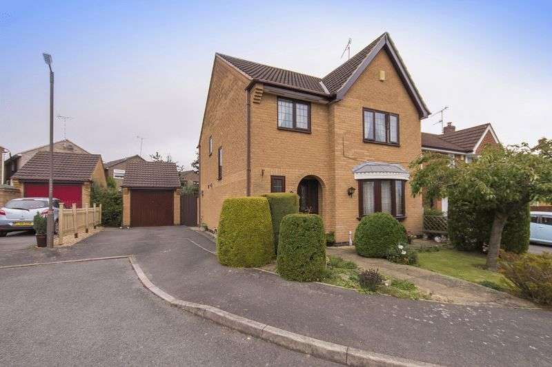 4 Bedrooms Detached House for sale in FARNBOROUGH GARDENS, ALLESTREE