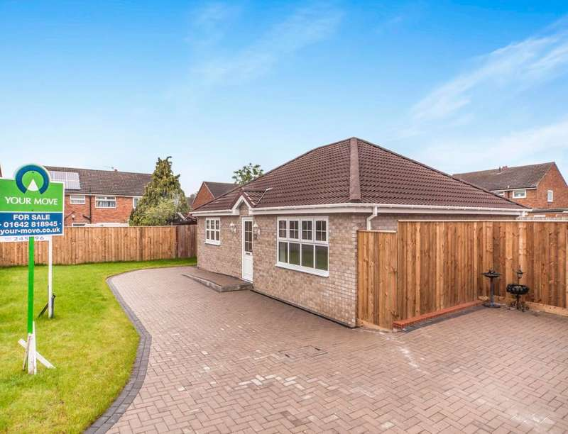 3 Bedrooms Detached Bungalow for sale in Faverdale Avenue, Middlesbrough, TS5