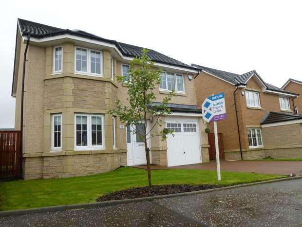 4 Bedrooms Detached House for sale in Balliol Path, Crystal Park, Clarkston, Airdrie, ML6