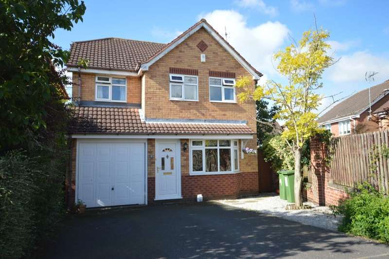 4 Bedrooms Detached House for sale in Maura Close, Whetstone, Leicester, LE8