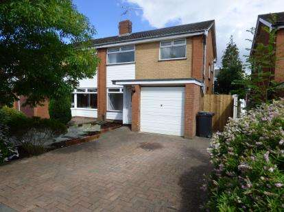 3 Bedrooms Semi Detached House for sale in Llys Wylfa, Mynydd Isa, Mold, Flintshire, CH7