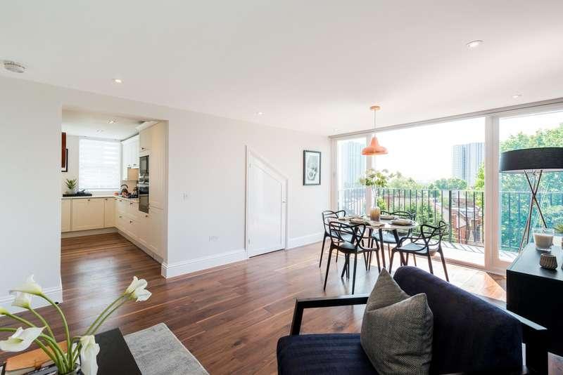 2 Bedrooms Flat for sale in Belsize Park Gardens, Belsize Park
