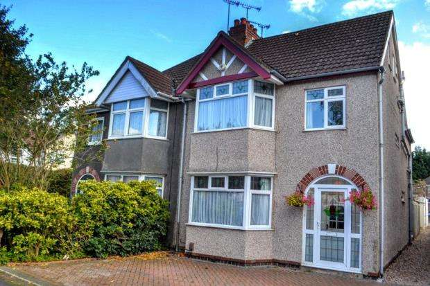 4 Bedrooms Semi Detached House for sale in Waverley Road, Kenilworth, Warwickshire
