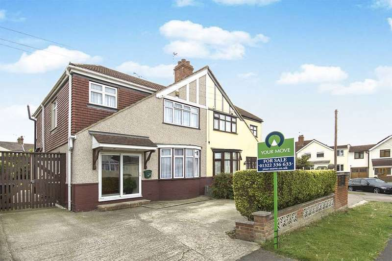 3 Bedrooms Semi Detached House for sale in Brantwood Avenue, Erith, DA8