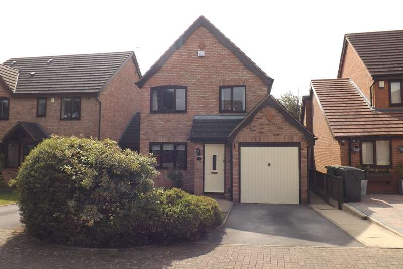 3 Bedrooms Detached House for sale in Rowan Close, Hollywood, Birmingham