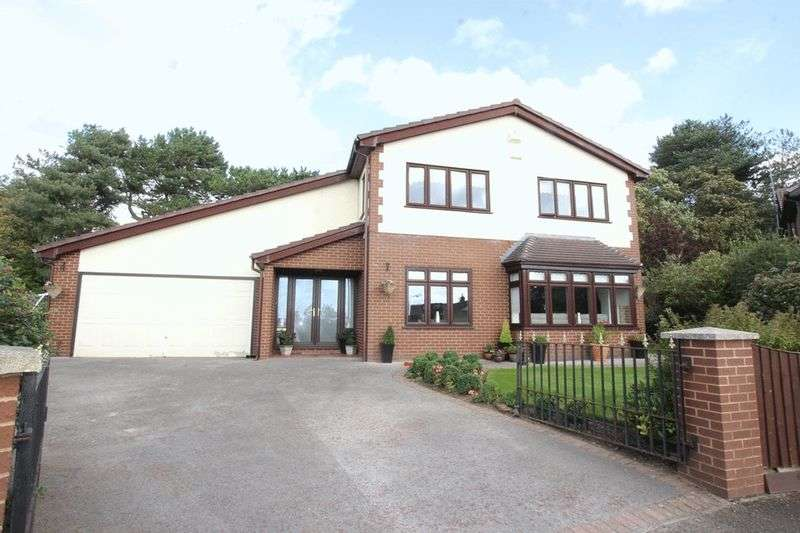 4 Bedrooms Detached House for sale in Rubbing Stone, Caldy, Wirral