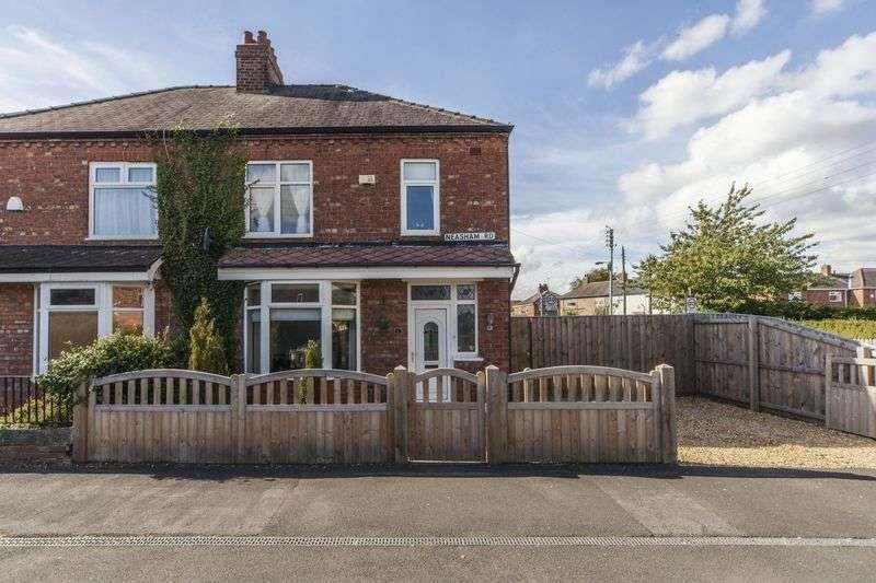 3 Bedrooms Semi Detached House for sale in Neasham Road, Darlington