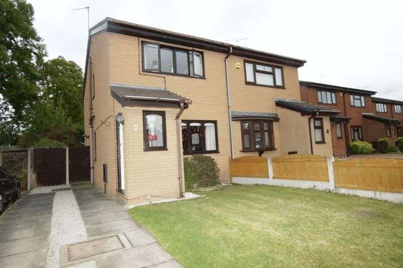 2 Bedrooms Semi Detached House for sale in Shaftesbury Avenue, Gwersyllt, Wrexham