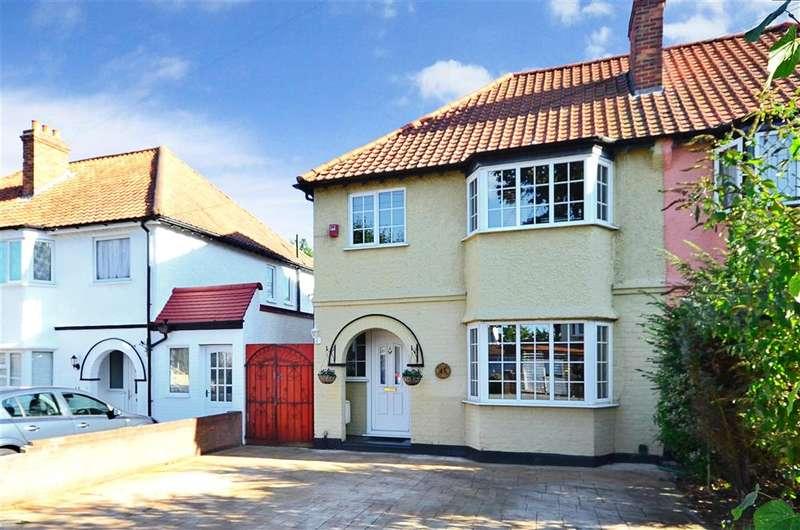 3 Bedrooms Semi Detached House for sale in Ridge Road, Sutton, Surrey