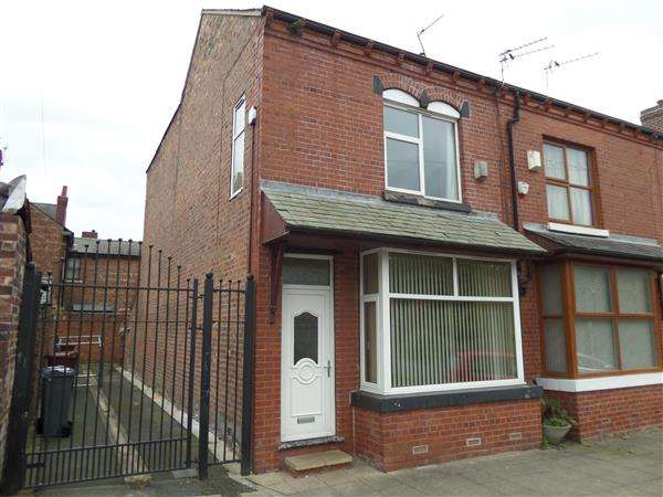 3 Bedrooms End Of Terrace House for sale in Ravine Avenue, Manchester