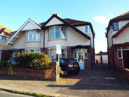 3 Bedrooms Semi Detached House for sale in Faringdon Avenue, Blackpool, Lancashire, FY4