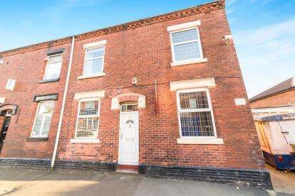 2 Bedrooms End Of Terrace House for sale in Canterbury Street, Ashton-Under-Lyne, Greater Manchester