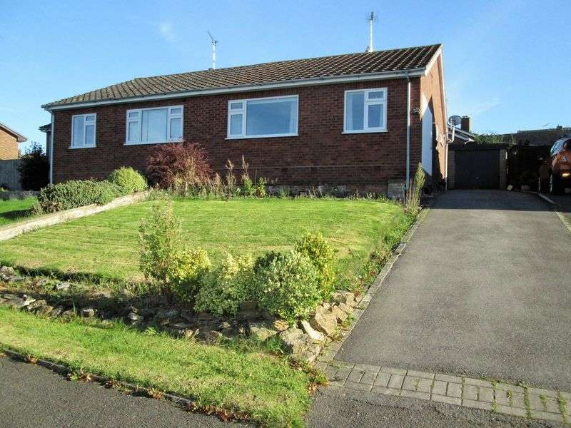 2 Bedrooms Semi Detached Bungalow for sale in Greenway, Braunston, NN11 7HP