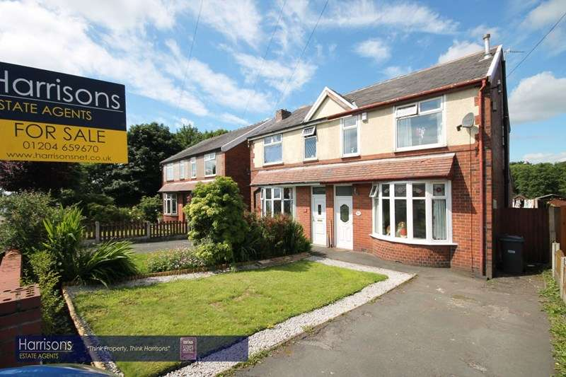 3 Bedrooms Semi Detached House for sale in St Helens Road, Over Hulton, Bolton, Lancashire.