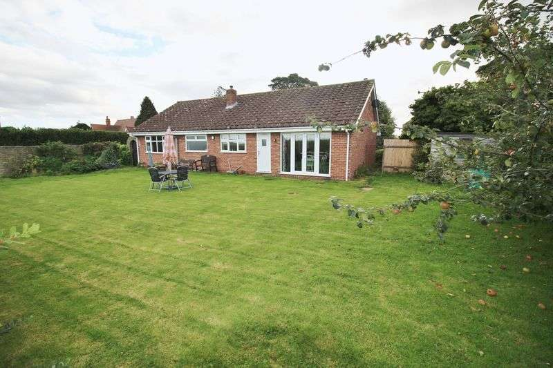 3 Bedrooms Detached Bungalow for sale in Langton Road, Sausthorpe, Nr Spilsby