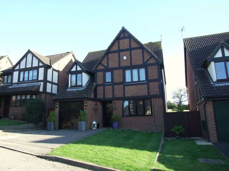 4 Bedrooms Detached House for sale in Hawthorns, Harlow