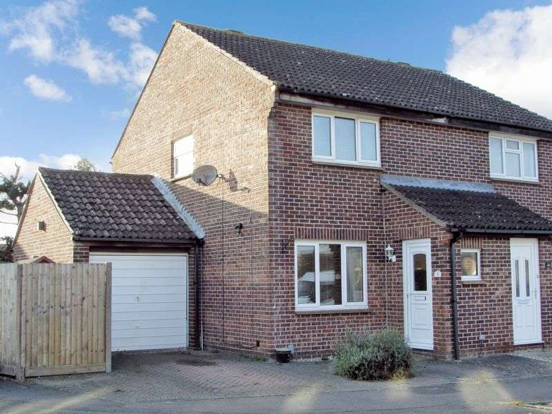 2 Bedrooms Semi Detached House for sale in Wenlock Way, Thatcham