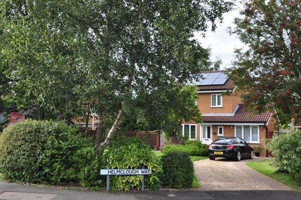 3 Bedrooms Detached House for sale in Helmclough Way, Manchester