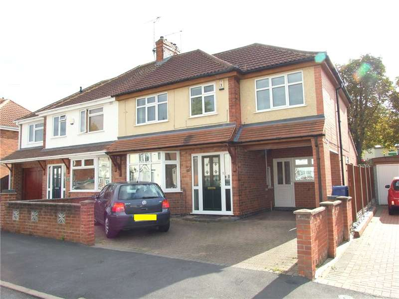 4 Bedrooms Semi Detached House for sale in Valley Road, Chaddesden, Derby, Derbyshire, DE21