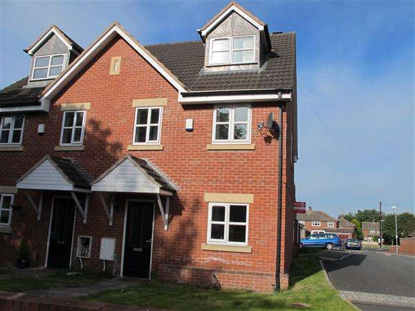 3 Bedrooms Semi Detached House for sale in Merlin Close, Brownhills, Walsall