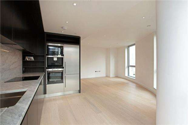 2 Bedrooms Flat for sale in Providence Tower, 1 Biscayne Avenue, London