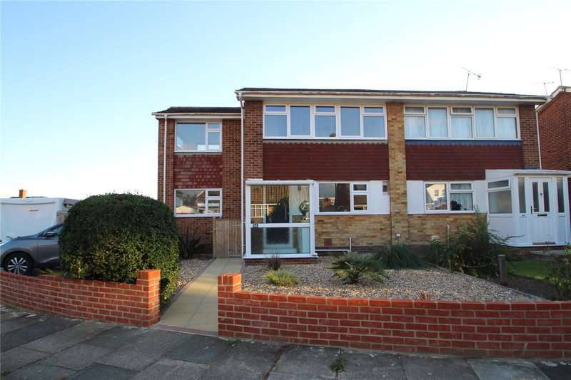 3 Bedrooms Semi Detached House for sale in Ingleside Crescent, Lancing, West Sussex, BN15